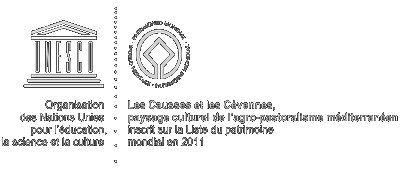 Causses Cévennes unesco logo